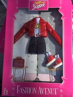 1997 Barbie Fashion Avenue Teen Skipper Outfit 1997 Mattel. This was one of my favorite Skipper outfits!
