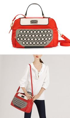 Kate Spade's All Typed Up Clyde bag. WANT (but can't afford)