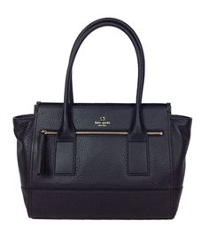 Kate Spade Southport Avenue Oden Leather Tote, Black