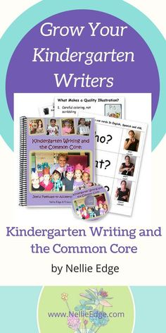 How to Grow Your Kindergarten Writers: Study Kindergarten Writing and the Common Core by Nellie Edge and learn 10 effective strategies. Kindergarten Writing Activities, Kindergarten Teachers, Writing Strategies, Writing Skills, Writing Process, Writing Ideas, Abc Phonics, Common Core Writing, Writing Programs