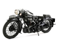 1932 Brough Superior - Lawrence of Arabia's motorbike
