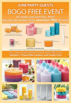 "Don't want to go to a party? No problem! Just click on the image and use ""Nikki Hendrix"" as your hostess to log in to the online party. Direct shipping. Plus get a FREE $15 gift certificate and a FREE dozen tealights with your $50+ purchase! I also will pay for your shipping with a $100+ purchase! (Before tax/ship. I will mail these gifts to you when the party closes)"