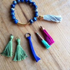 How to make a tassel from embroidery thread