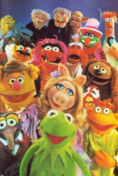 muppets!  my sons favorite