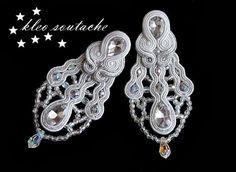 Sutasz Kleo /Soutache jewellery: ślub/wedding