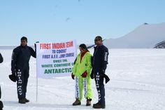 Nirupama Verma - Uber life ..... over the white continent of Antarctica.