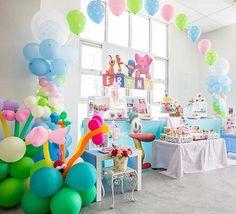 fiesta de cumpleaños de Pocoyó