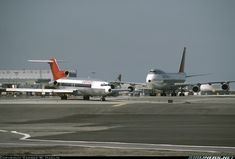 Republic Airlines, Northwest Airlines, Boeing 727, Vintage Airline, Air Lines, Civil Aviation, Air Travel, Airports, North West