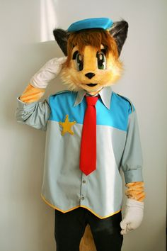 Tail Concerto Waffle Ryebread mascot costume by Oneandonlycostumes