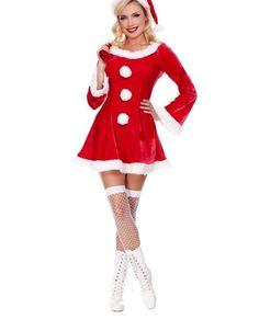 d3ecd7affed Festive Sleigh Belle Santa Costume Santa Costume