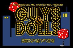 guys and dolls musical sign - Google Search