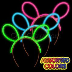 Our glow headbands are one of our most versatile products.Use them as costume…