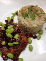 Salmon, Glazed salmon and Green beans on Pinterest