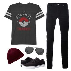 Pokemon trainer by lenidasgenie on Polyvore featuring polyvore, JEM, Diesel Black Gold, Lakai, Givenchy, Michael Kors, fashion, style and clothing