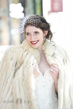 So cute, winter wedding portrait. Winter Wedding Fur, Winter Bride, Winter Weddings, Vintage Fur, Vintage Bridal, Bear Wedding, Winter Wedding Inspiration, Wedding Styles, Wedding Ideas