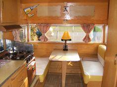 Vintage 1958 Shasta Airflyte Canned Ham restored camper in RVs & Campers | eBay Motors