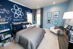 Boy's Bedroom - The Hemingway by Dostie Homes