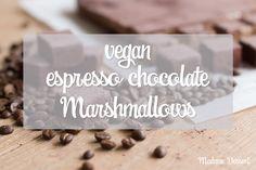 [English] Vegan expresso chocolate Marshmallows | Madame Dessert