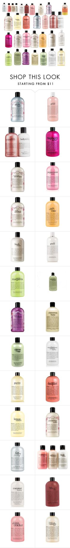 """""""What is you favorite Philosophy soap?"""" by wildfire-love ❤ liked on Polyvore featuring beauty and philosophy"""