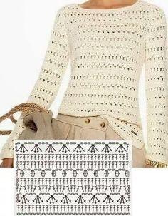 Crochet Cardigan Sweater Pattern made from two hexagons - free pattern! T-shirt Au Crochet, Bikini Crochet, Pull Crochet, Gilet Crochet, Black Crochet Dress, Crochet Cardigan Pattern, Crochet Jacket, Crochet Woman, Crochet Blouse