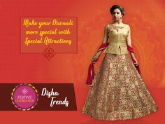 Make your Diwaali more special with Special Attractions. #Diwaali, #Disha, #Trends, #Diwaalicelebrations