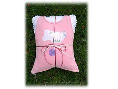 Kissen aus Shirt / Pillow made from old shirt / Upcycling