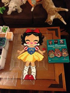 Snow White perler beads by Becky Cheaney (Farley)