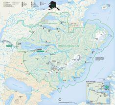 Katmai National Park Poster - Custom Posters - Design Your Own Wall. National Parks Map, National Park Posters, Katmai National Park, Live Animals, United States Travel, Custom Posters, Design Your Own, Places To Travel, Alaska