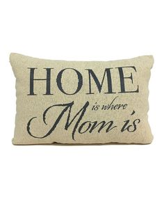 Throw Pillow With The Word Home On It : 1000+ images about Word Pillows on Pinterest Throw Pillows, Red Decorative Pillows and Home ...
