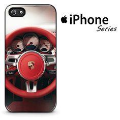 Porsche 911 Turbo Dashboard Red Logo Phone Case | Apple iPhone 4/4s 5/5s 5c 6/6s 6/6s Plus 7 7 Plus Samsung Galaxy S4 S5 S6 S6 Edge S7 S7 Edge Samsung Galaxy Note 3 4 5 Hard Case  #AppleiPhoneCase #SamsungGalaxyCase #SamsungGalaxyNoteCase #PorschePhoneCase #Yuicase.com