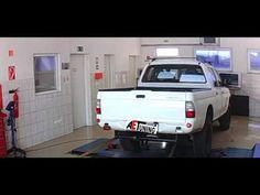 Mitsubishi L200 2.5TD 115LE AET CHIP Tuning referencia videó DYNO padi t...