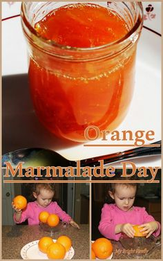The Marmalade Day with a Bear Called Paddington. Orange Marmalade - kids in the kitchen. Fun Orange Facts for Kids.