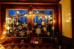 Déco de Fenêtre Noël 2014