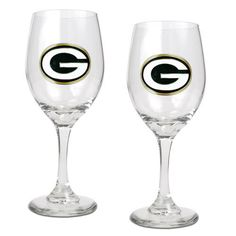 Great American Products Green Bay Packers 2 Piece Wine Glass Set >>> Read more  at the image link.Note:It is affiliate link to Amazon.