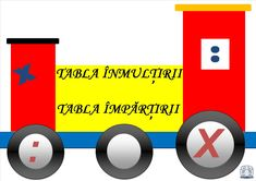 Tabla înmulțirii - Locomotiva Tech Logos, Projects To Try, Education, Math, School, Training, Educational Illustrations, Early Math, Learning