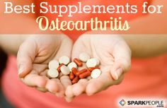 Dietary Supplements for Osteoarthritis via @SparkPeople