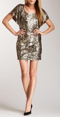 Sequin Dress / Blu Pepper