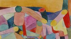 Titulo de la imágen Paul Klee - (Untitled) Colour composition, c.1914 (w/c and pencil on paper)