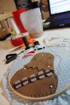 Star Wars Applique/Embroideries - NEEDLEWORK