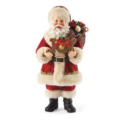 Department 56 Possible Dreams Santas Joy to The World Santa Figurine 11Inch >>> More info could be found at the image url.