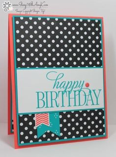 Happy Birthday, Everyone by amyk3868 - Cards and Paper Crafts at Splitcoaststampers