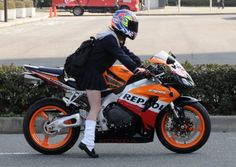 JKバイク通学・・ | みんな夢の中