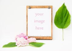 Styled Stock Photography | Styled Stock Image | Clipobard with Large Leaf | Product Background | Product Photography | Digital Image by charminglysavvy on Etsy