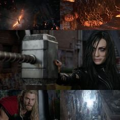 """Have you seen the first official full trailer for Marvel Studios """"Thor: Ragnarok""""? Here are some screenshots from the trailer to whet your appetite! Cate Blanchett is sexy and terrifying as """"Hela""""! You gotta love """"The Hulk""""!"""