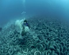 Garbage like this shouldn't end up in the ocean. We love it, let's take care of it. ISF Foundation