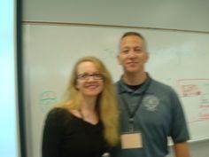 Chief Scott Silverii, PhD at SWAT class