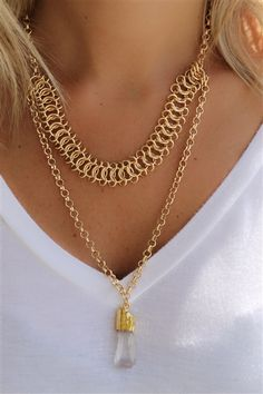 A Stones Throw Necklace