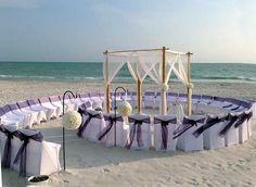 Decoración: 10 montajes para una boda en la playa | NUPCIAS Magazine