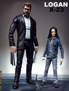 Old Man Logan and X-23 (Logan Movie) (Marvel Legends) Custom Action Figure