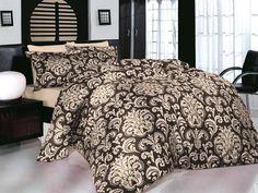 Pościel satynowa Valentini Bianco Limited Edition ERA KAWA, 160x200 + 2x 70x80 cm oraz 220x200 + 2x70x80 cm, 100% bawełna.